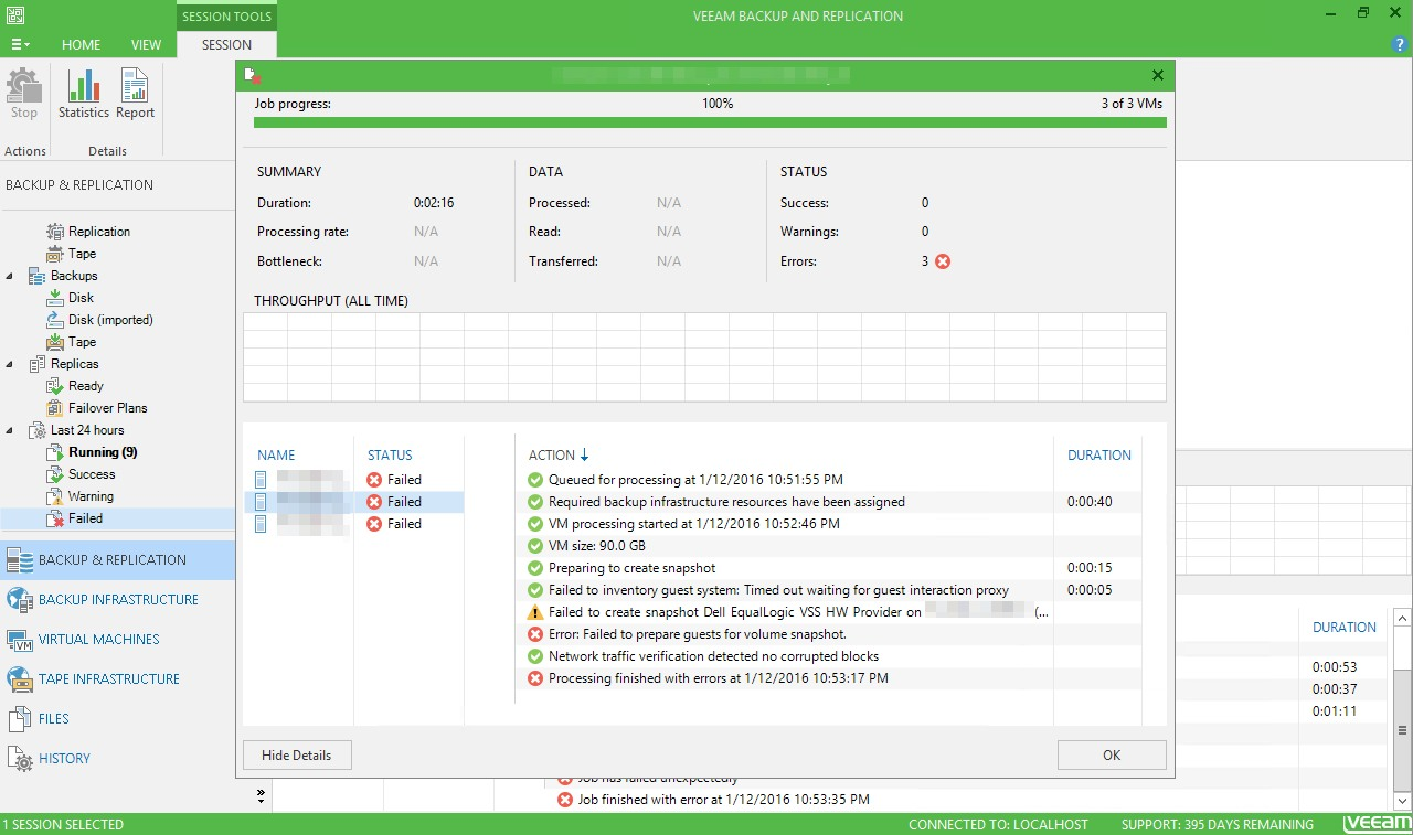 Veeam – IT Automation Blog