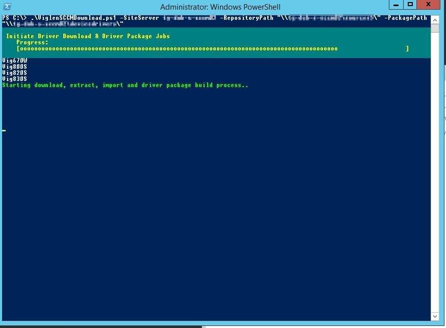 SCCM Viglen Client Driver Autodownload PowerShell Script – IT